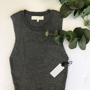 ASTR | gray tank sweater size M NWT